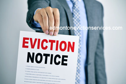 Edmonton Eviction Notice